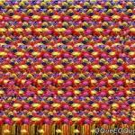 Imagem 3D de Peixes