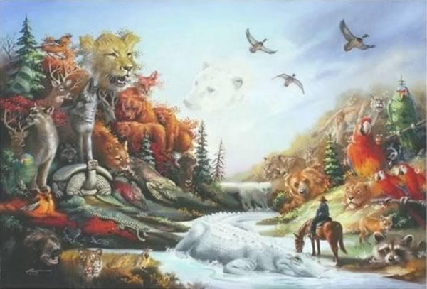 quantos animais tem na imagem